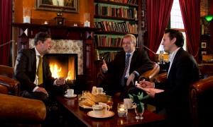 In gesprek met twee burgemeesters