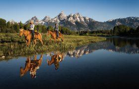 Amerika te paard: alleen voor echte cowboys