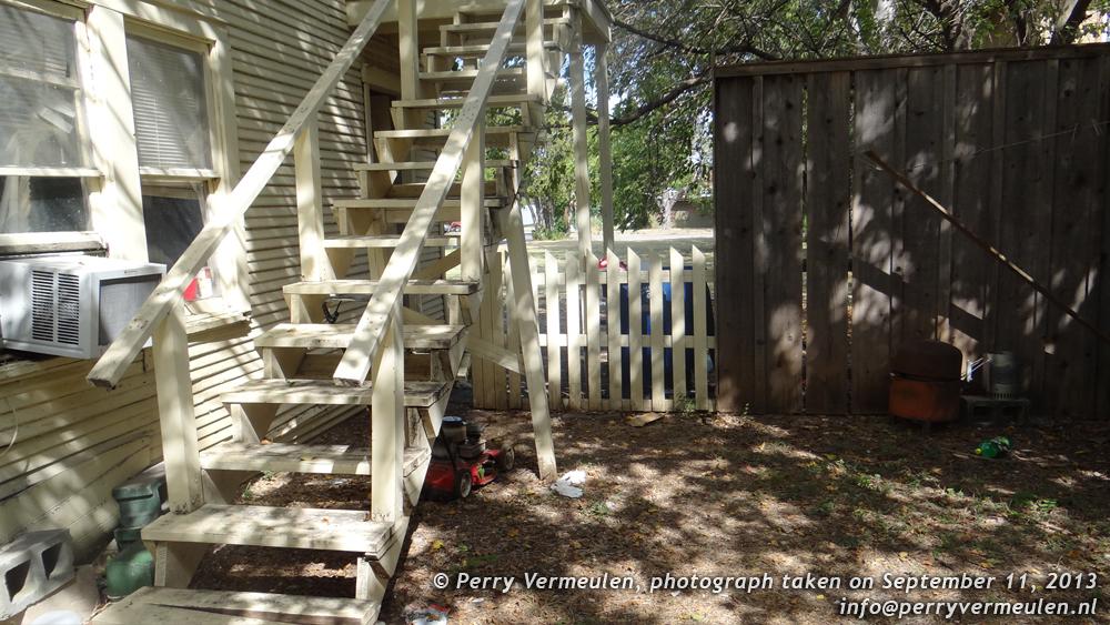Backyard 214 Neeley Street