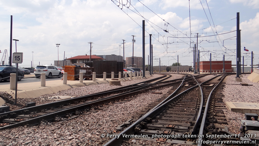 Rail yard behind Dealey Plaza