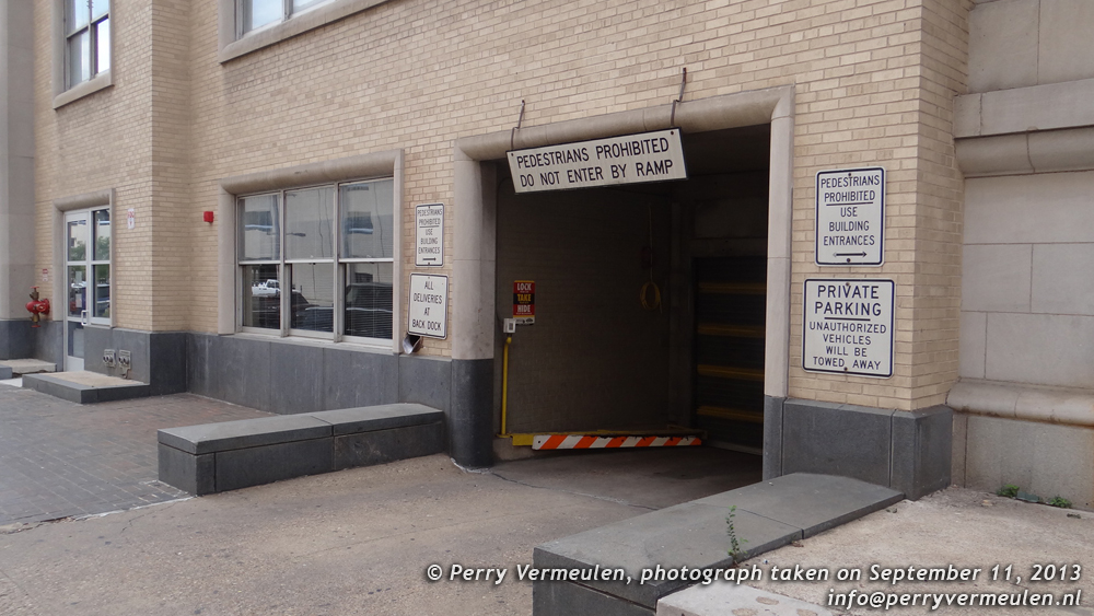 Where Jack Ruby shot Lee Harvey Oswald