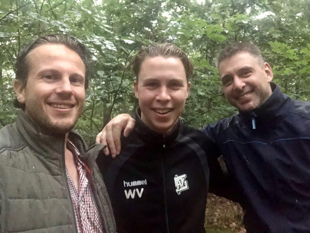 Perry Vermeulen, Wils Verberne en Frank van Rooij